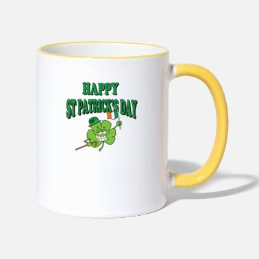 St Happy St Patrick's Day - Two-Tone Mug