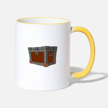 Chest chest - Two-Tone Mug