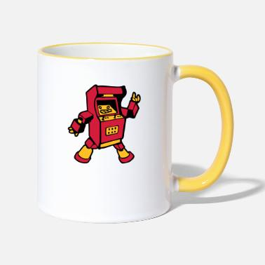 Video video game funny - Two-Tone Mug