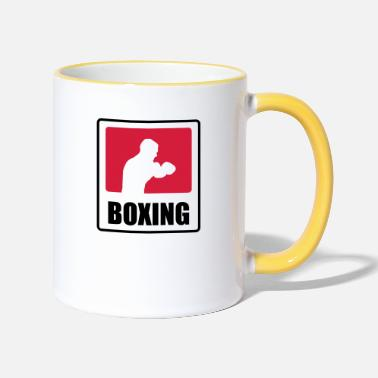 By Ali Boxer - Boxing  - Two-Tone Mug