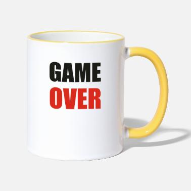 Game Over game over - Tazza bicolor