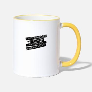 Westminster Motive for cities and countries - WESTMINSTER - Two-Tone Mug