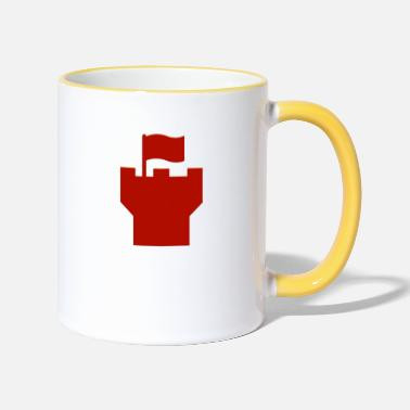 Ritterburg tower - Two-Tone Mug