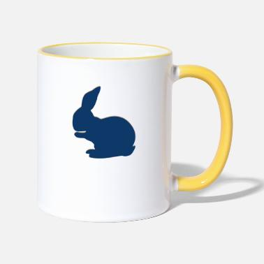 Thumper Real Rabbit - Two-Tone Mug