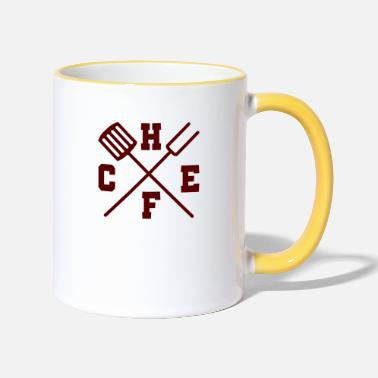 Chef Chef / Chef Cook: Chef - Two-Tone Mug