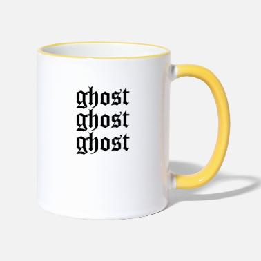 Ghost Ghost ghost ghost - Two-Tone Mug