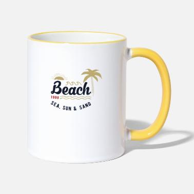 Outdoor Outdoor beach - Mug bicolore