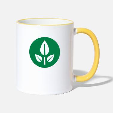 Wall EVE Flower Plant Symbol - Two-Tone Mug