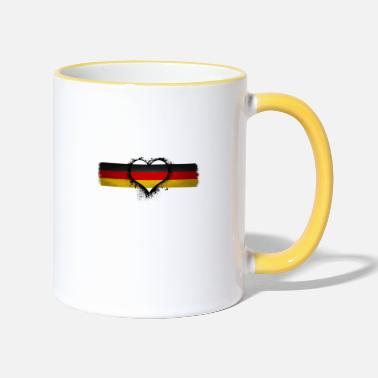 Germany Germany Germany Germany - Two-Tone Mug