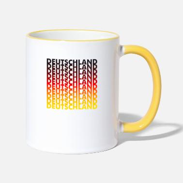 Germany Germany! Germany! Germany! - Two-Tone Mug