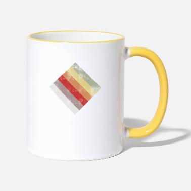 Rectangle rectangle - Mug bicolore