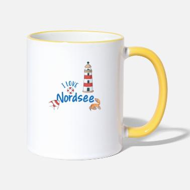 North Sea North Sea - Two-Tone Mug
