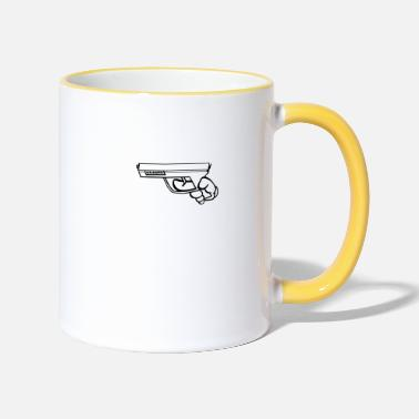 Handgun FOCUS ~ Handgun - Two-Tone Mug