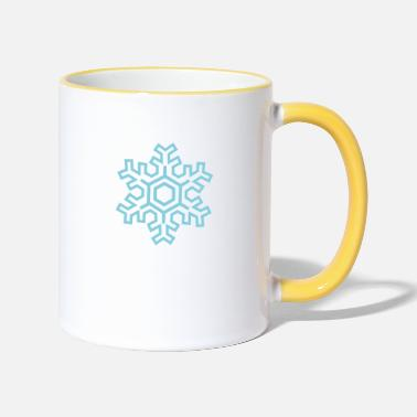 Flocon De Neige Flocon de neige - Mug bicolore