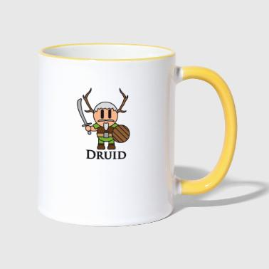 Druid Druid from RPGs like Dungeons & Dragons - Contrasting Mug