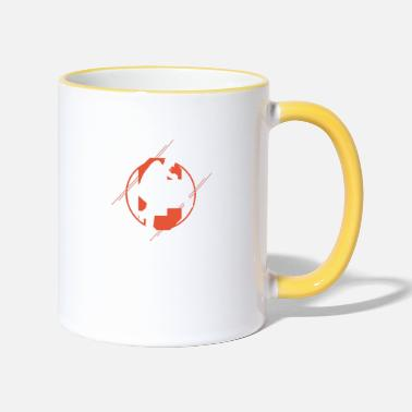 Cricket Cricket Cricket Player Cricket Cricket Ball Gifts - Contrasting Mug