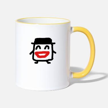 Character cartoon character - Two-Tone Mug