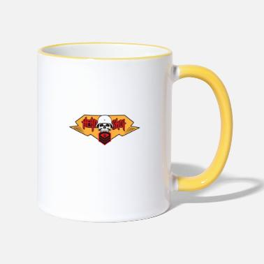 Head Shot Head Shot - Two-Tone Mug