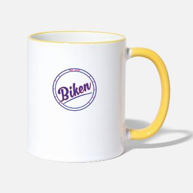 Biking - Two-Tone Mug
