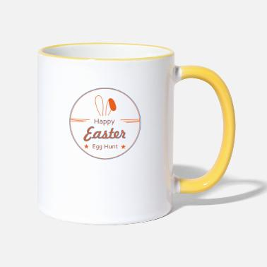 Happy Easter - Two-Tone Mug