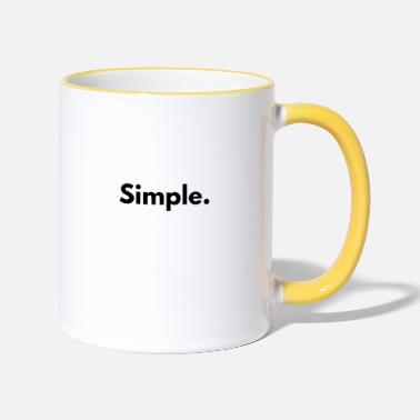 Simple simple - Mug bicolore
