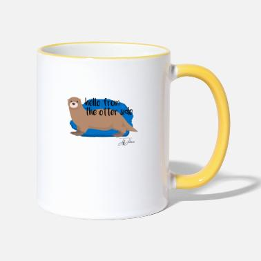 Animal Animal Animals Animal Animals - Two-Tone Mug