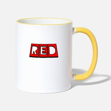 Red Red - Two-Tone Mug
