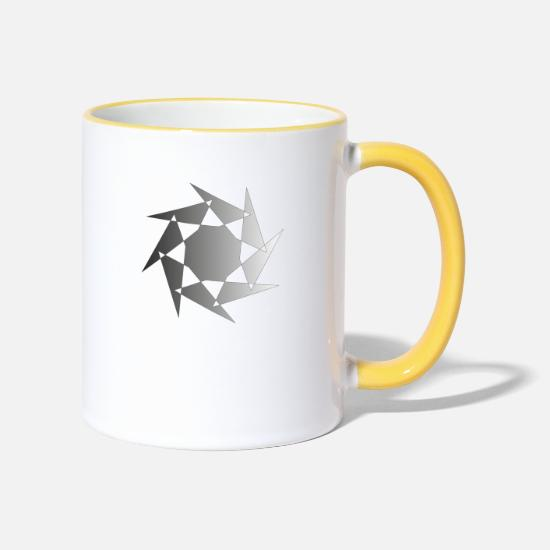 Gift Idea Mugs & Drinkware - Fantasy gift - Two-Tone Mug white/yellow
