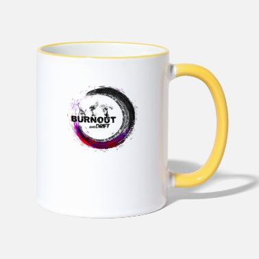 Burnout Burnout - Tazza bicolor