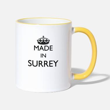 Personalise: Made In Surrey - Two-Tone Mug