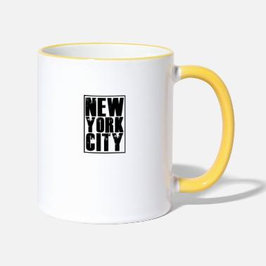 New York City New York City - Two-Tone Mug