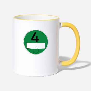 particulate matter - Two-Tone Mug