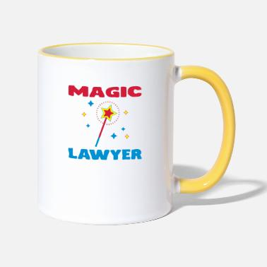 Avocat / Avocate / Lawyer / Banquier / Humour / G - Two-Tone Mug