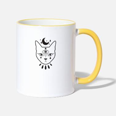 Occult occultism - Two-Tone Mug