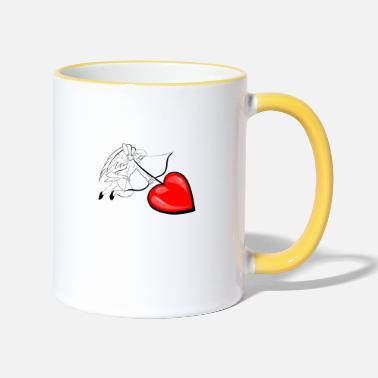 Cupid Cupid - Two-Tone Mug