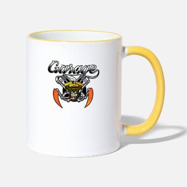 Garage-music garage - Two-Tone Mug