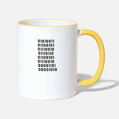 Server Message server - Two-Tone Mug