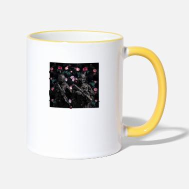 Love Soldiers for Peace - Two-Tone Mug