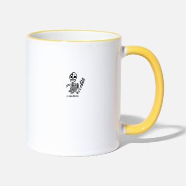 I Am Ok I AM OK! - Two-Tone Mug