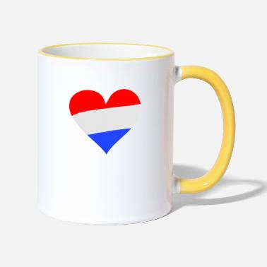 Heart Holland - Two-Tone Mug