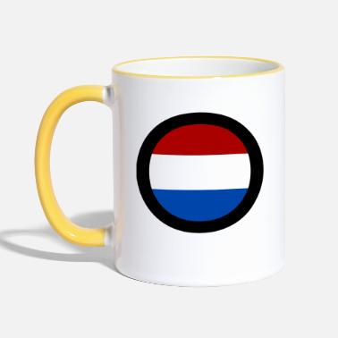 Holland flag - Two-Tone Mug