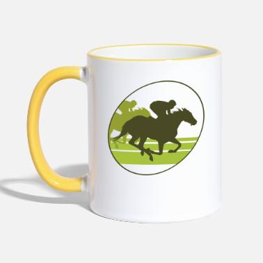 Gallop Gallop, horse , stallion, mare - Two-Tone Mug