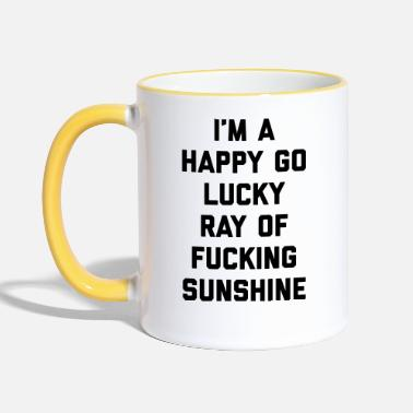 Sunshine Ray Of Sunshine Funny Quote - Tasse zweifarbig