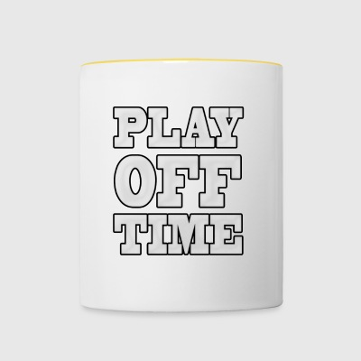 Playoff Temps - Tasse bicolore