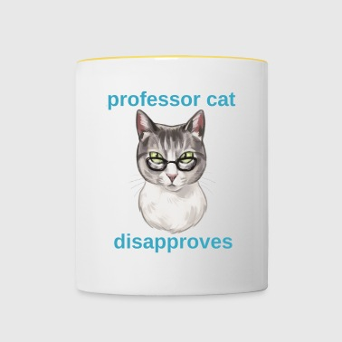 professor Cat - Tofarvet krus