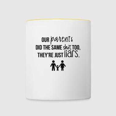 nos parents - Mug contrasté
