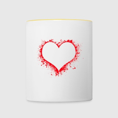 Bloody Heart - Contrasting Mug