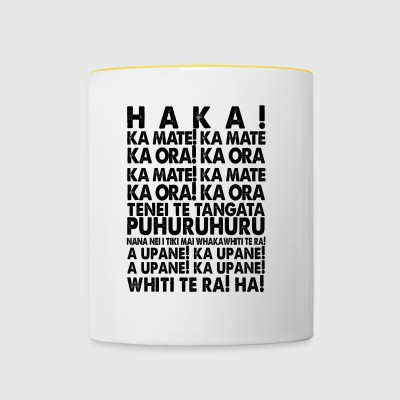 HOOK MAORI RUGBY All Blacks New Zealand Gift - Contrasting Mug