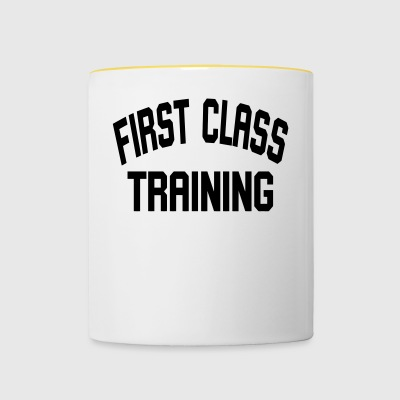 First class training - Contrasting Mug
