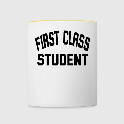 First Student - Taza en dos colores